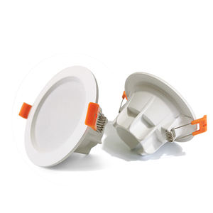 Recessed LED Down Light SKD Fixtures Housing 9watts SMD in low price