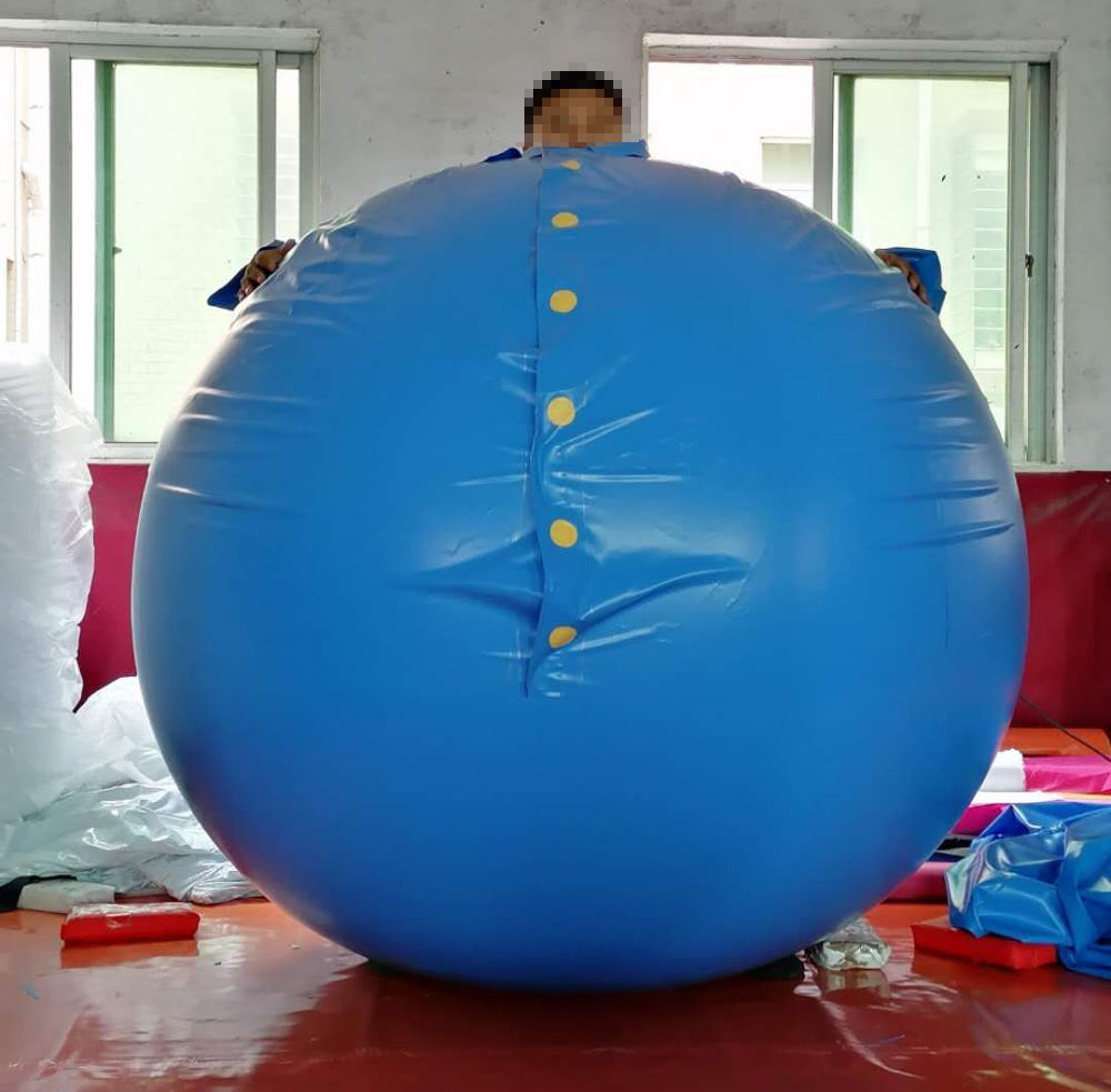 Big PVC round inflatable ball suit for cosplay