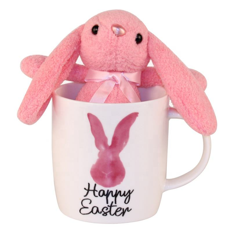 Happy holiday Creative Lovely Ceramic items promotional Cheap funny easter gifts holiday gifts