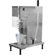 free shipping Express to door Fully stainless steel swirl freeze fresh fruit flavor swirl freeze ice cream machine