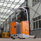 EFORK Standing Type Electric Reach Truck Forklift with Big Front Wheel