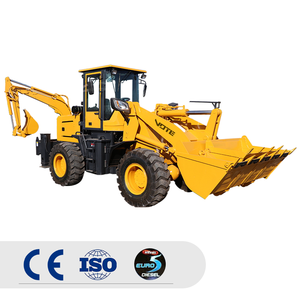 3-6 ตัน Heavy Duty Towable backhoe MINI backhoe Loader สำหรับขาย