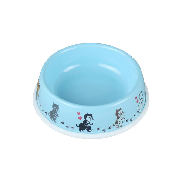 High quality eco friendly melamine ware pet cat dog bowls
