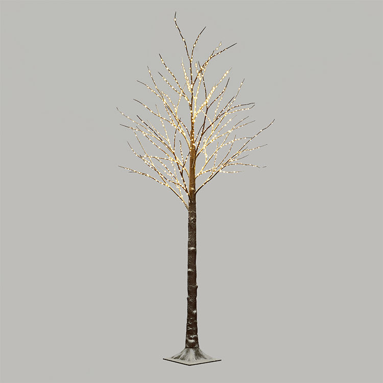 LED Winter Wonderland Fata Neve Albero Illuminato Albero di Neve