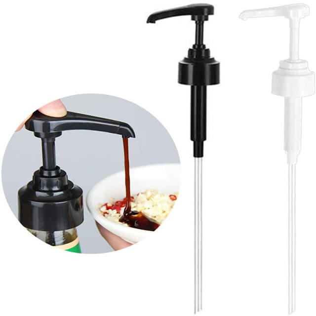Home Kitchen Restaurant Oyster Sauce Bottle Pressure Mouth Pump