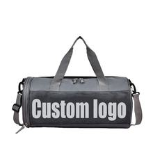 Custom Logo Unisex Nylon Travel Outdoor Sport Multi-Function Waterproof Duffle Gym Bags