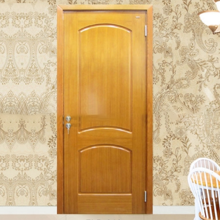 Yekalon High quality Craft Modern line Interior Solid wood door