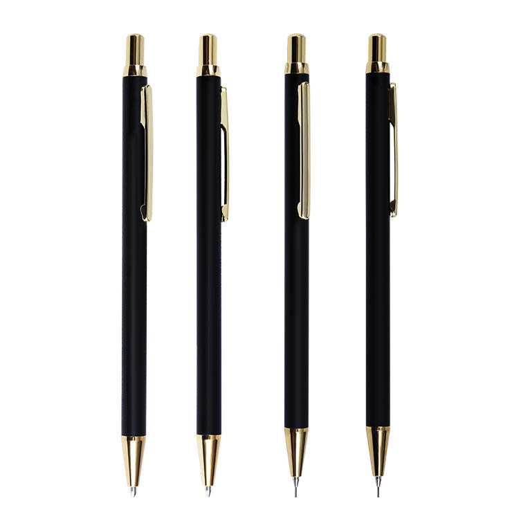 black gold clip Ballpoint Pen Type and No Novelty Japan stationery