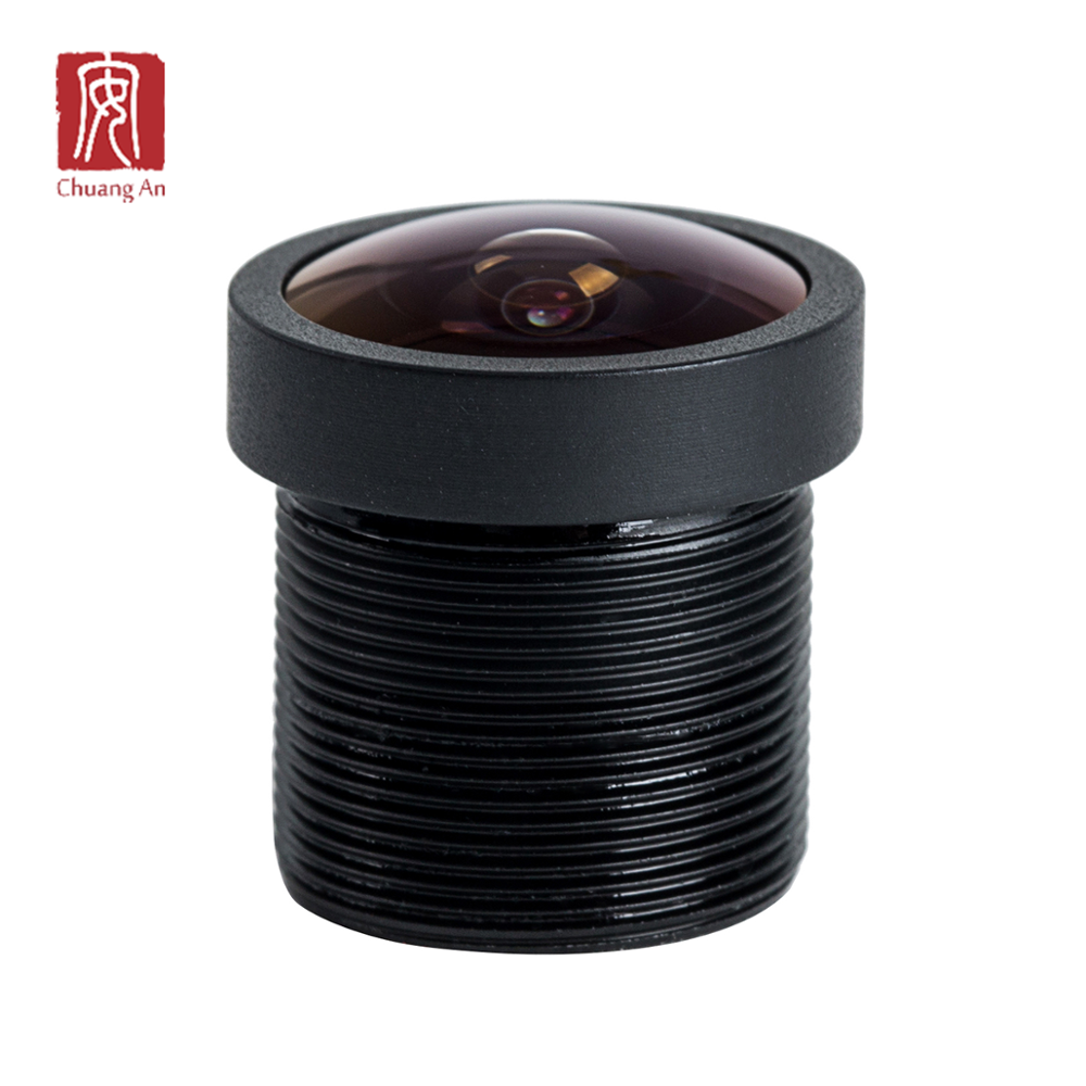 "165 Degree 1.75 mm 1/4"" inch Wide Angle M12 Wide Angle Lens For Car Recorder"
