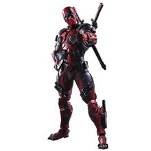 hokids toys PLAY-ARTS  X-men Dead pool Super Hero Model Action Figure Model Toys wholesale Toy  gifts Action Figures