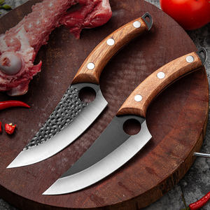Professional Serbian Boning Knife High Carbon Steel Butcher Chef Knives for Kitchen