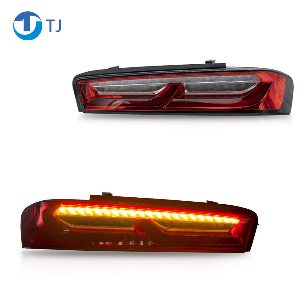TailLight Assembly Fit For Chevrolet Camaro 2015-2017 Lamp Turn Signal with Sequential Indicator Manufacturer Wholesales