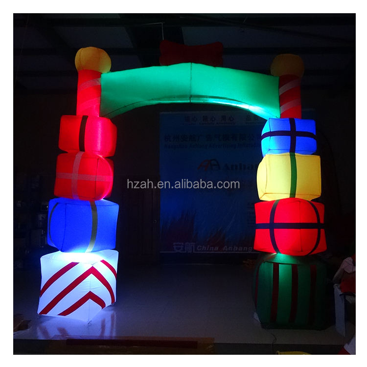 Christmas Inflatable Gift Arch for Decoration