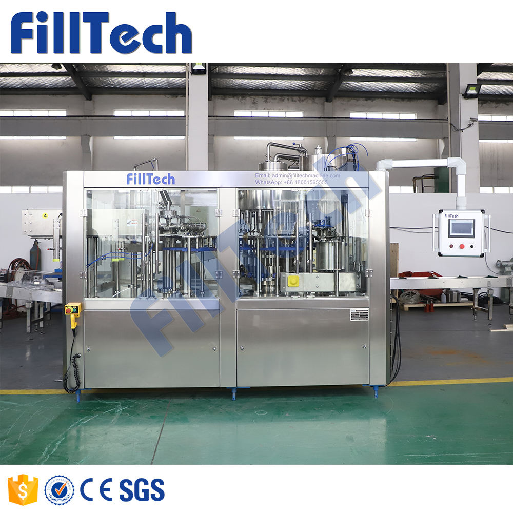 Factory price juice filling machine equipment price / water liquid production line