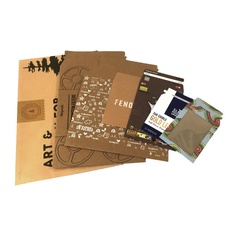 Cheap Stay Flat Cardboard Mailers Rigid Kraft Envelope
