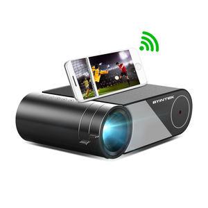 BYINTEK K9 LCD Projector VGA AV USB WIFI Sync Phone Home Theater Video projector