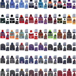 2020 latest American football NFL beanie hats 32 designs