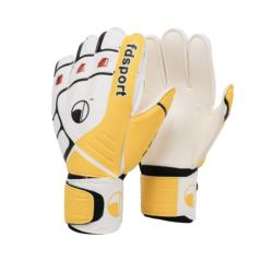 Goalkeeper gloves football With finger guard Latex tape finger guard goalkeeper gloves