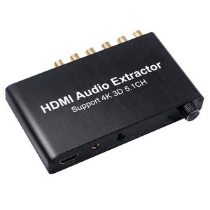 Aoeyoo HDMI To HDMI Audio Extractor Với 5.1 RCA 4K * 2K