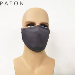 Wholesale Custom Artists Design Reusable Fashion solid Cotton fabric Face Maskes