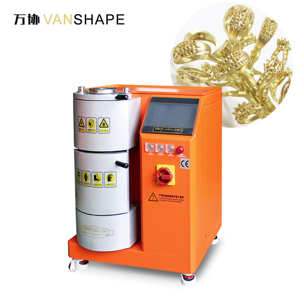 Mini Automatic Vacuum Pressure Casting Machine For Jewelry Casting