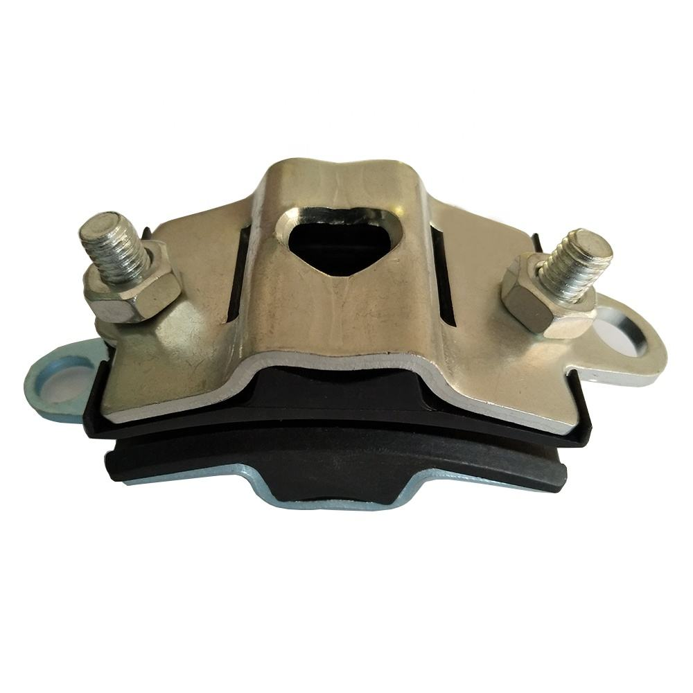 High Quality Cable Suspension Clamp with Steel Strip