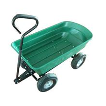 tipping bucket handle pull garden plastic tool cart new TC2145