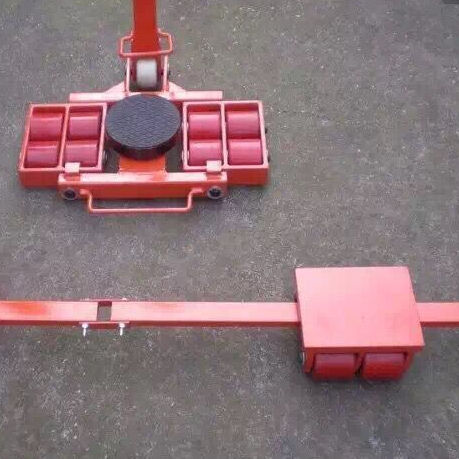 180 degree 12t machinery moving transport roller skates