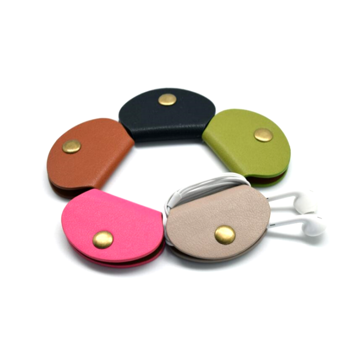Small Shell Earphone Cable Storage Clip Data Cable Storage Line Organizer Clip Compact