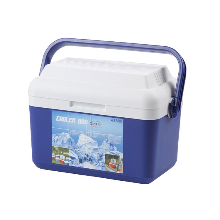 50L 22L 8L Cool box wholesale portable plastic ice cooler box for picnic beverage and food