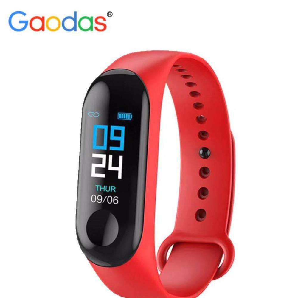 high-quality M3 smart wristwatch measures heart rate blood pressure health and fitness M3 watch