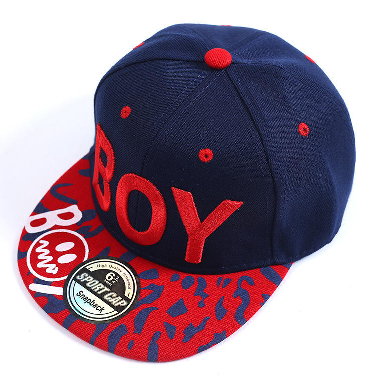 New design heyouj2 kids sun hat fashion embroidered kids reversible bucket hat colorful little boy baseball cap