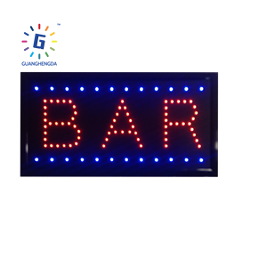 Led Neon Signs Letter Custom Light Acrylic Outdoor Letters Shop Board For 3D Bar Advertising Electronic Box Ice Cream Open Sign