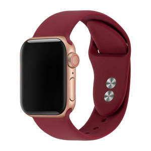 Dây Đeo Đồng Hồ Thể Thao Mềm Mới 2020 Dây Đeo Silicon Iwatch Cho Dây Đeo Apple Watch