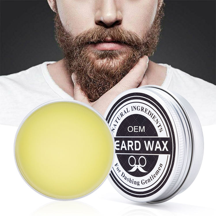 Top Quality Natural Beard Conditioner Moisturizing Balm Private Label For Beard Growth And Organic Moustache Wax Smooth Styling
