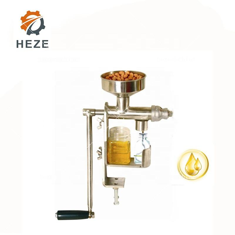 Manual Cold Press Machine Coconut Oil Manual Oil Expeller Machinery