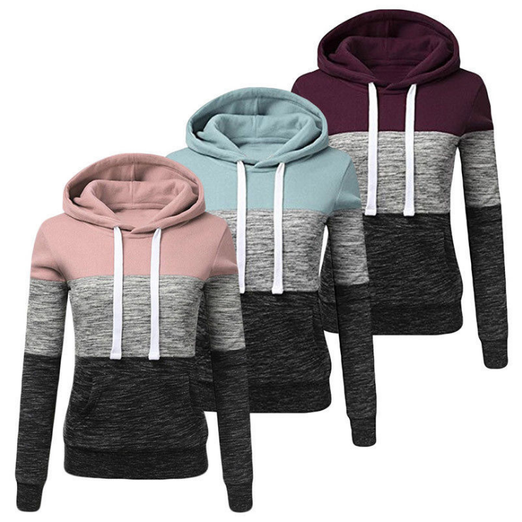 Women Autumn Long Sleeve Pullover Hoodies Casual Sweatshirt Hooded For Women
