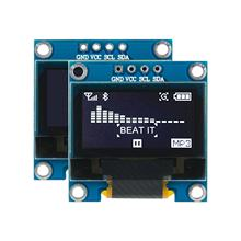 0.96 inch OLED display module with 128x64 resolution I2C interface White 4p