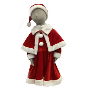 Wholesale Boutique Kids Clothing Children Winter Christmas Costume