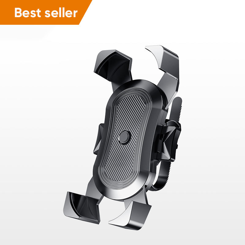 Premium Plastic Adjustable 360 Rotation Stand Mount Universal Mobile Phone Holder for Bicycle Bike Motorcycle