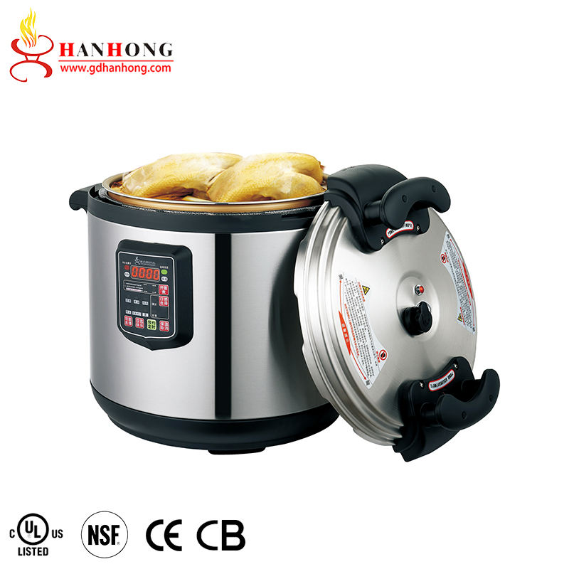 Best Sellers 50L 17L 21L 25L 33L 45L 55L 65L Steel Commercial Big Capacity Electric Rice Restaurant Pressure Cooker