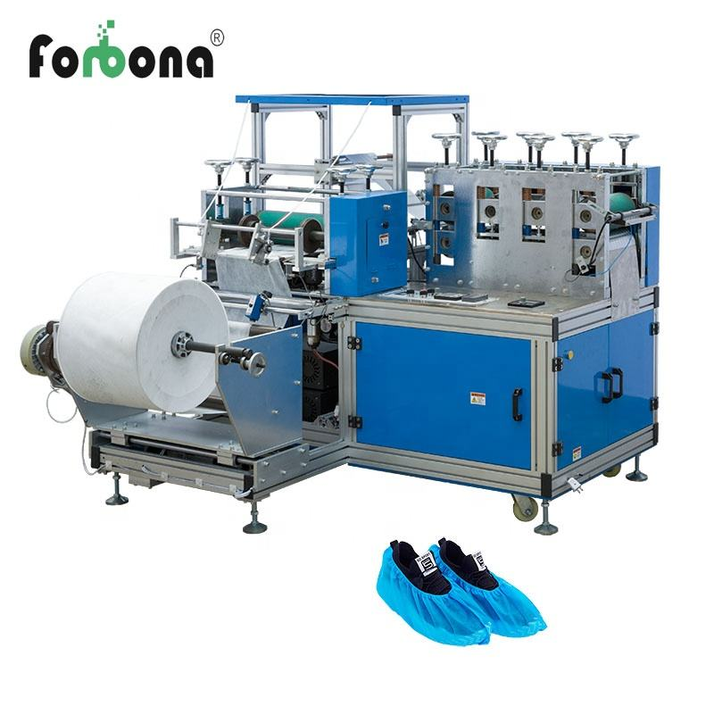 china ruian non-woven shoes cover making machine for dust-free plant
