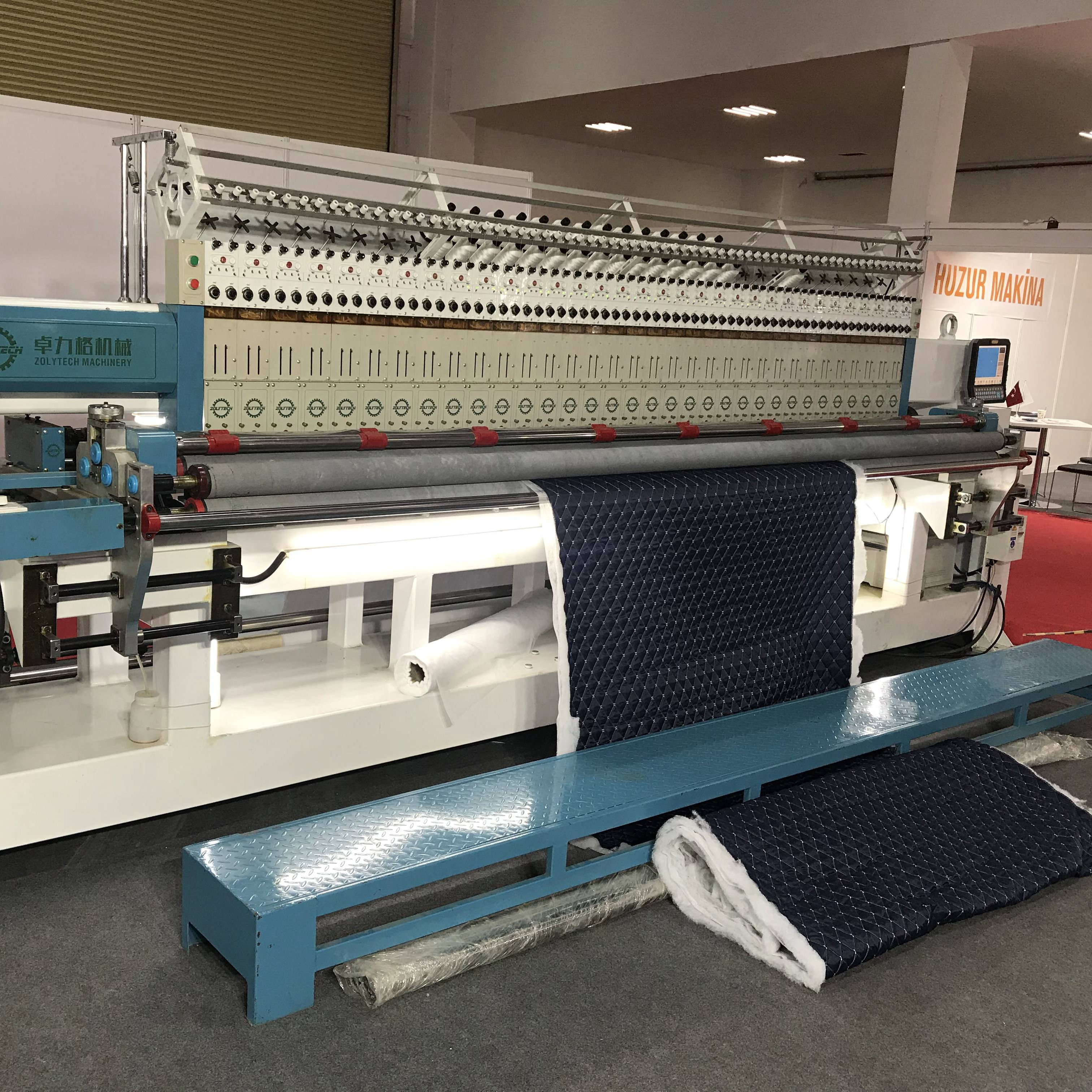 2020 Hot Sales High Speed Sectional Quilting Embroidery Machine