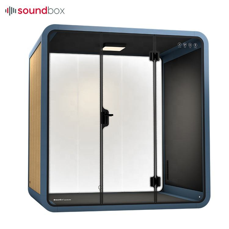 Soundproof Portable Acoustic Booth Office Sound Proof Pod