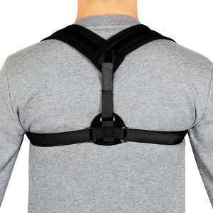 Amazon venda quente correção ajustável cinto de ombro para trás postura brace unisex postura de apoio de volta correto