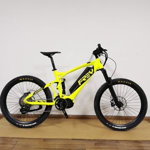 FREY AM1000 5.0 Bafang M620 full suspension electric mountain bike /eMTB G510.1000 motor.