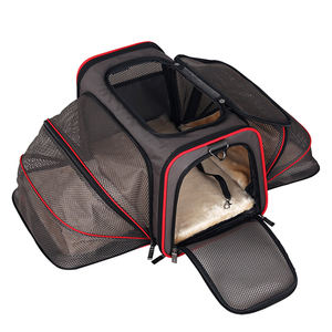 Wholesale Luxury Foldable Pet Dog Carrier Travel Bag Outdoor Pet Carrier