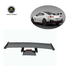 08-15  Nismo Style Carbon Fiber GT Wing Rear Trunk Spoiler For Nissan GTR R35