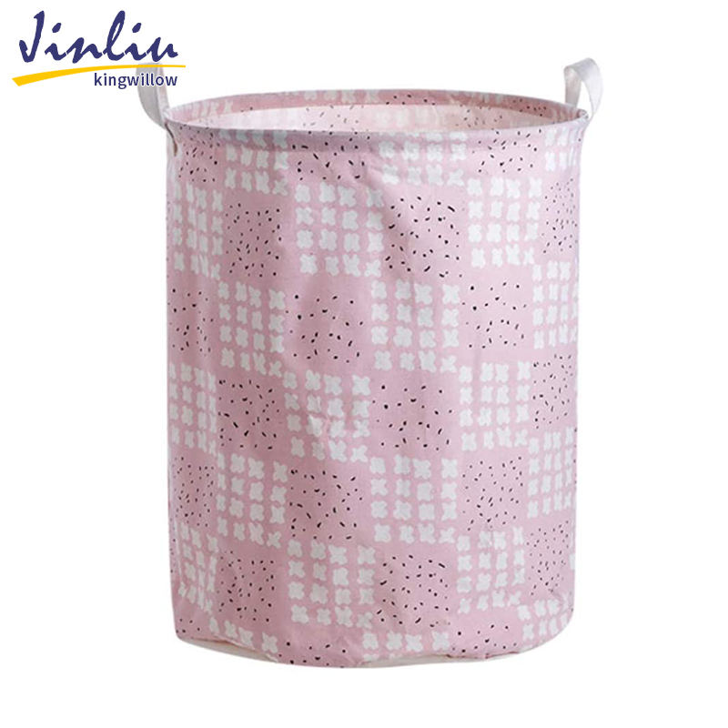 Jinliu Factory Direct Folding Laundry Basket Storage Hot Selling Pop-up Folding Laundry Basket Foldable