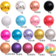 32 inch large size pearlescent metal 4D helium foil balloon for birthday party decoration children's toy globe